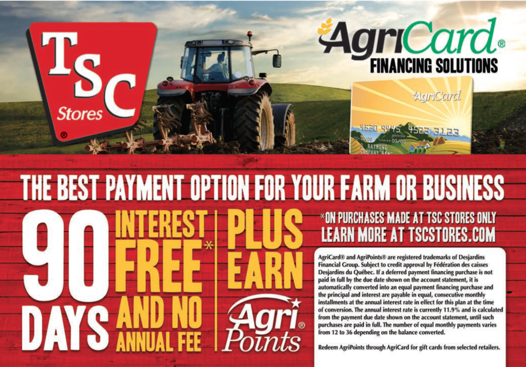 TSC Stores - AgriCard Financing Solutions