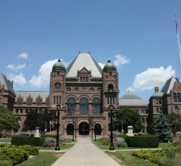 Queen's Park - Ontario government