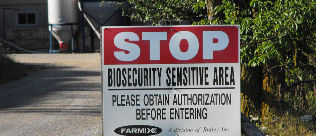 It's time to build a biosecurity plan for your farm