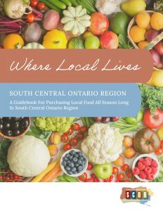 Where Local Lives: South Central Ontario Region