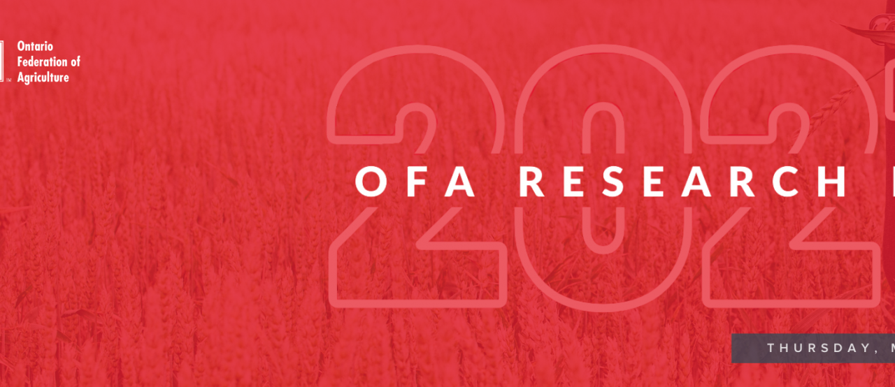 OFA invites you to attend our Research Day